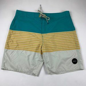 RVCA Colorblock Board Shorts 38